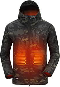 manteau camouflage chauffé
