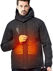 veste avec chauffage