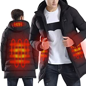 manteau long chauffant