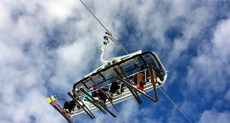 remonté mécanique ski