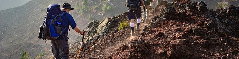 équipements pour la randonnée en montagne